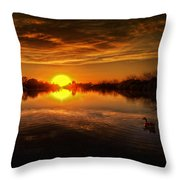 Dreamy Sunset II Throw Pillow