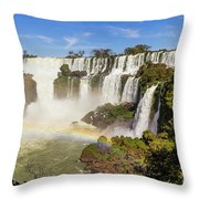 Dreamy Waterfalls Throw Pillow