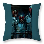 Dredd Karl Urban Donal Gleeson Olivia Thirlby 96764 750x1334 Throw Pillow