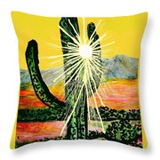 Drenched In Light  Throw Pillow