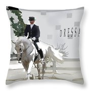 Dressage Throw Pillow