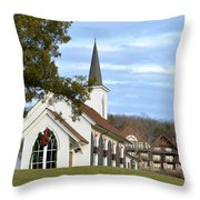 Dressed For Christmas Throw Pillow