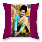 Dressed To Dance Throw Pillow