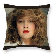 Drew Barrymore Throw Pillow