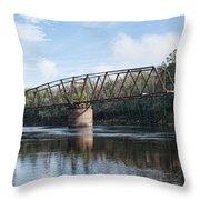 Drew Bridge Throw Pillow
