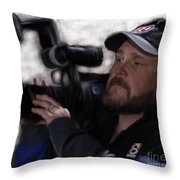 Dre The Drone King Throw Pillow