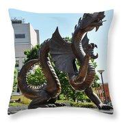 Drexel University Dragon - Philadelphia Pa Throw Pillow