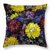 Dried Delight 3 Throw Pillow