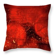 Dried Red Pepper Throw Pillow