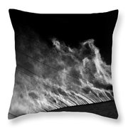 Drift #4 Throw Pillow
