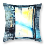 Drift Dream I Was There Throw Pillow