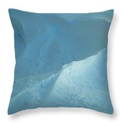 Drifted Snow Waves Throw Pillow