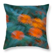 Drifting Daisies Throw Pillow