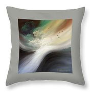 Drifting Souls Throw Pillow