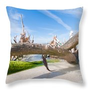 Driftwood C141351 Throw Pillow