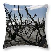 Driftwood Forest Throw Pillow
