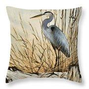 Driftwood Splendor Throw Pillow