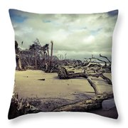 Driftwoods Throw Pillow