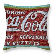 Drink Coca-cola Throw Pillow