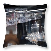 Drinks Anyone Throw Pillow