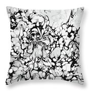 Drippies Throw Pillow