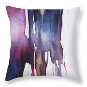 Dripping 2 Throw Pillow