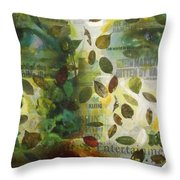Dripping Souls Throw Pillow