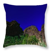 Dripping Springs Reflection Throw Pillow