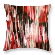 Drippings Horse Throw Pillow