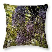 Drips And Drops Throw Pillow