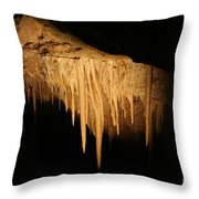 Drips - Cave Throw Pillow