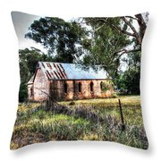 Dripstone Church. Throw Pillow