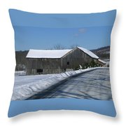 Drive By Delight Throw Pillow
