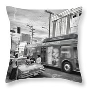 Drive-by Product Placement Throw Pillow