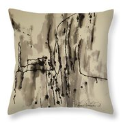 Drive By With Love Throw Pillow