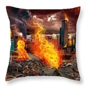 Drive Deadly  Throw Pillow
