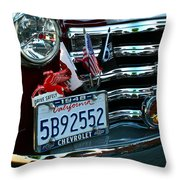 Drive Safely Throw Pillow