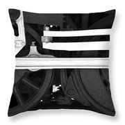 Drive Train Throw Pillow