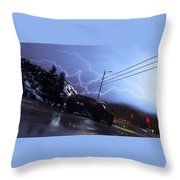 Driveclub Throw Pillow