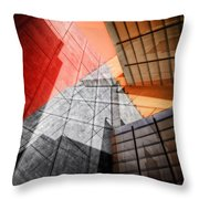 Driven To Abstraction Throw Pillow