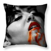 Drives Throw Pillow