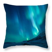 Driving Home Throw Pillow
