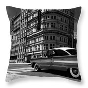 Driving Nun Throw Pillow