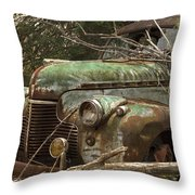 Driving Under The Influence Throw Pillow