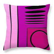 Drop Throw Pillow by Ely Arsha