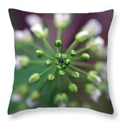 Drop Of Life Throw Pillow