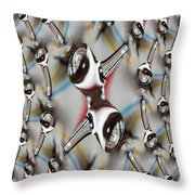Droplet 2 Throw Pillow