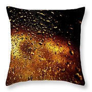 Droplets I Throw Pillow