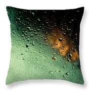 Droplets II Throw Pillow