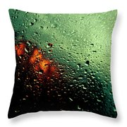 Droplets IIi Throw Pillow